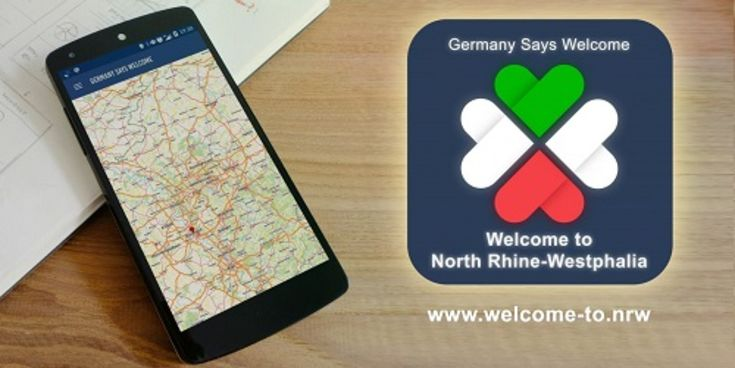 App: Welcome to NRW